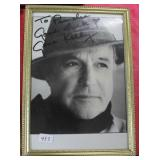 """""""GENE KELLY"""" AUTOGRAPHED PHOTO PERSONALIZED TO MS"""