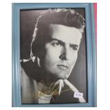 """""""CHARLIE SHEEN"""" AUTOGRAPHED PHOTO"""