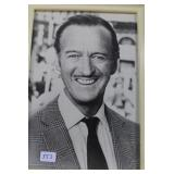 """""""DAVID NIVEN"""" AUTOGRAPHED PHOTO AUTOGRAPH IS ALL"""