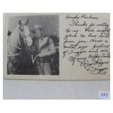 MEMBERSHIP INVITATION TO THE ROY ROGERS AND DALE