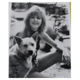 """""""PARK OVERALL"""" AUTOGRAPHED PHOTO WITH COWGIRL THE"""