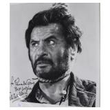"""""""ELI WALLACH"""" AUTOGRAPHED PHOTO PERSONALIZED TO"""