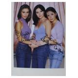 AUTOGRAPHED PHOTO OF THE CAST OF CHARMED