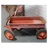 "VINTAGE ""RADIO FLYER - 9A"" WAGON"
