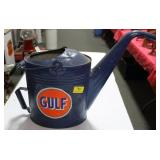 "VINTAGE ""GULF"" WATER CAN"