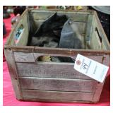 """PET DAIRY"" WOODEN MILK CRATE"