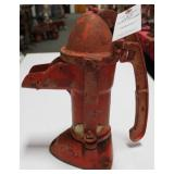 W. L. DAVEY PUMP CORP. CAST IRON KITCHEN WELL