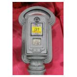 DUNCAN MILLER COIN OPERATED PARKING METER HEAD