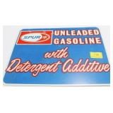 SPUR UNLEADED GASOLINE WITH DETERGENT ADDITIVE