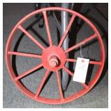 "16"" IRON WHEEL BARROW WHEEL"