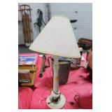 CAST IRON COLUMN STYLE TABLE LAMP