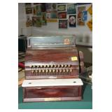 1925 NATIONAL CASH REGISTER WITH MARBLE BLOCK -