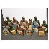 COLLECTION OF 20 COLLECTIBLE JIM BEAM BOTTLES