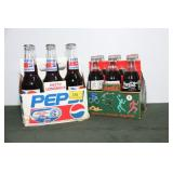6 PACK OF RICHARD PETTY LONG NECK PEPSI