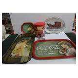 GROUPING: COCA-COLA COLLECTOR TIN TRAYS