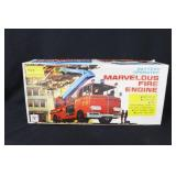 BATTERY OPERATED MARVELOUS FIRE ENGINE IN