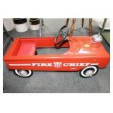 AMF PEDAL CAR: FIRE CHIEF - CAR NO. 503