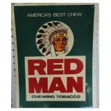 PAPER RED MAN CHEWING TOBACCO ADVERTISING