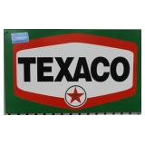 TEXACO METAL ADVERTISING SIGN - REPRODUCTION