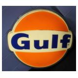 SINGLE SIDED GULF LIGHT SIGN - WORKS