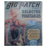 BIG PATCH BRAND SELECTED VEGETABLES ADVERTISING