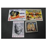 GROUPING: 2 MOVIE POSTERS, JACK DANIELS