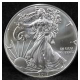 ROLL OF 20 UNC 2017 SILVER EAGLES