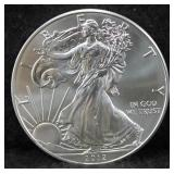 ROLL OF 20 UNC 2012 SILVER EAGLES