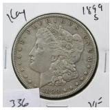 1899-S MORGAN SILVER DOLLAR - KEY DATE