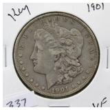 1901 MORGAN SILVER DOLLAR - KEY DATE