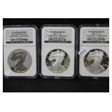 SILVER DOLLAR SET - 2006-W EAGLE 20TH ANNIVERASRY