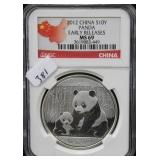 2012 CHINA S10Y PANDA - EARLY RELEASE - NGC