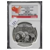 2013 CHINA S10Y PANDA - EARLY RELEASE - NGC