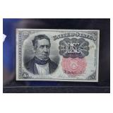 SERIES OF 1874 U.S. FRACTIONAL CURRENCY - 10¢