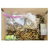 GROUPING: LOOSE AMMUNITION: 5.56MM, .22 CAL, 9MM,