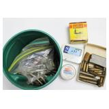 GROUPING: ASSORTED LOOSE AMMUNITION .22 CAL, .38