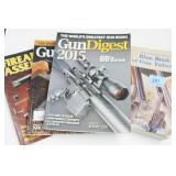 4 FIREARM RELATED BOOKS: BLUE BOOK, GUN DIGEST
