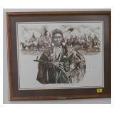 CHIEF JOSEPH BY PAUL CALLE SIGNED 670/950