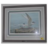 ARTIC TERN PAIR BY ROBERT BATEMAN SIGNED 7/950