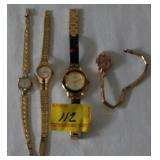 ARMITRON, WYLER, BULOVA, NO NAME LADIES WATCHES