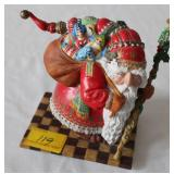 OLDE WORLD SANTA SIGNED 916/950 THE GREENWICH