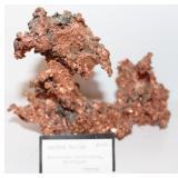 KEWEENAW PENINSULA, MICHIGAN NATIVE COPPER