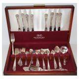 56PC ROGERS ETERNALLY YOURS FLAT WARE SET