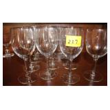 13PC WINE GLASSES