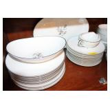 NORITAKE MARGOT CHINA 52PC