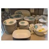 77PC NORITAKE UP-SA DAISY CHINA