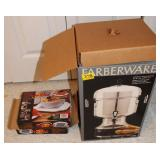 FARBERWARE COFFEE MAKER AND HOT PLATES