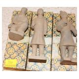 3PC CHINESE STAND STONE SOLIDERS