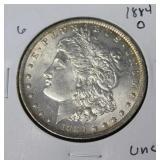 1884 O MORGAN DOLLAR  UNC