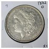 1882 O MORGAN DOLLAR  XF